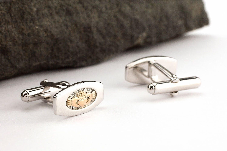 Celtic Cuff Links. Claddagh Jewelry Irish Claddagh Cuff Links Irish Claddagh